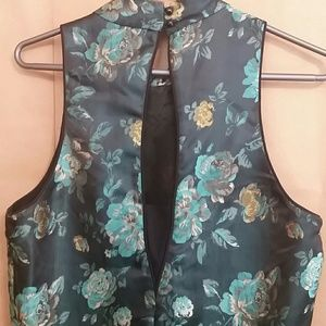 NWT Kut from the Kloth green floral dress sz 10